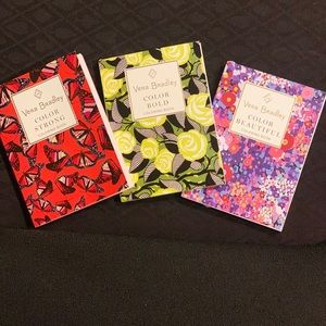 Vera Bradley mini coloring cards